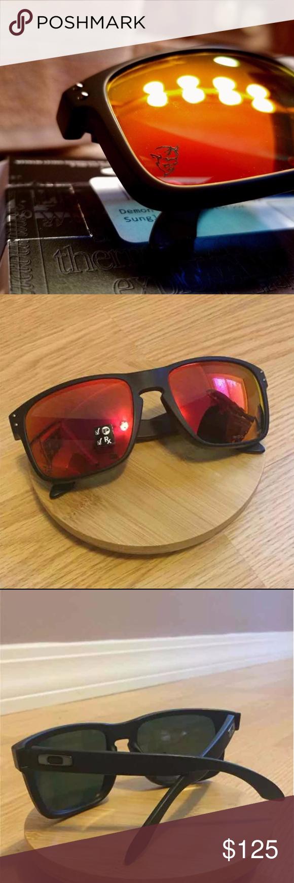 51595c0094 Dodge Demon Oakley Sunglasses Brand new Oakley Sunglasses! NIB Limited  Edition Dodge Demon Oakley