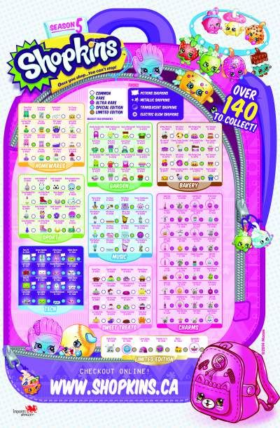 Candid image regarding shopkins list season 2 printable