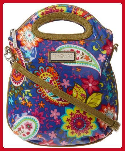 6b0556c24a Hadaki Sling Pod Mini Tote,Cobalt Paisley,one size - Top handle bags  (*Amazon Partner-Link)