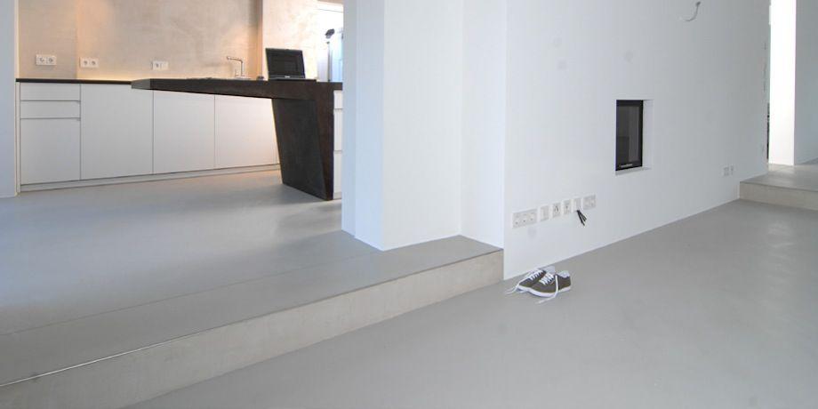 a monolith sichtestrich f r fussboden wandgestaltung k chen m bel for the home pinterest. Black Bedroom Furniture Sets. Home Design Ideas