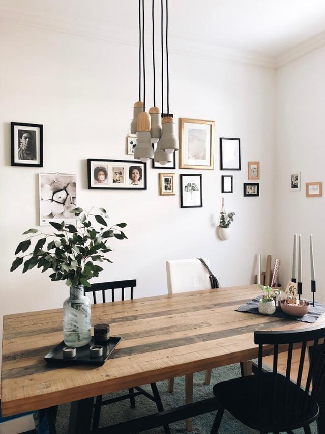 kontrastreiche bilderrahmen im esszimmer entdecke noch mehr wohnideen auf couchstyle living. Black Bedroom Furniture Sets. Home Design Ideas