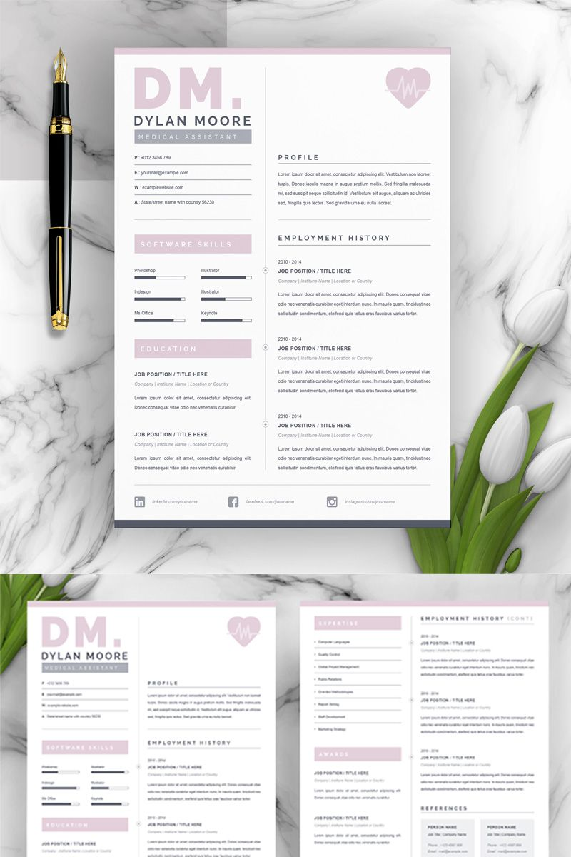 Doctor Resume Template Ad Resume Doctor Resume