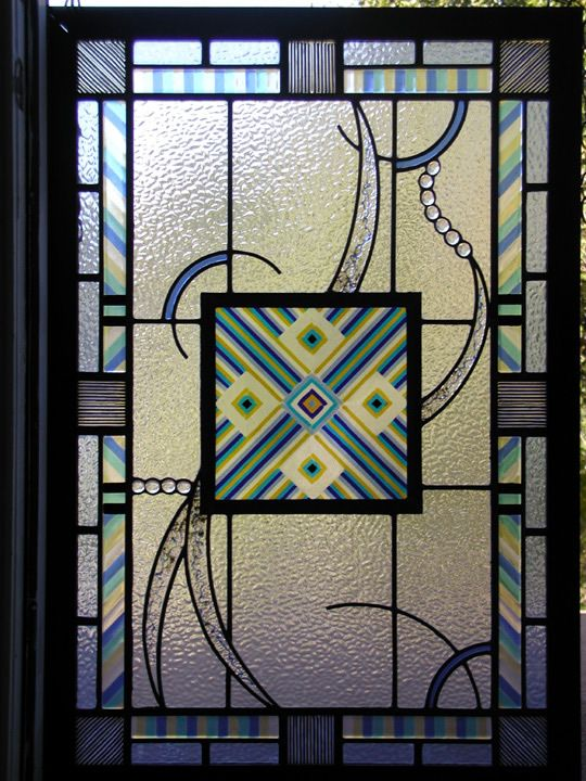 Leaded glass abstract door panel with fused glass elements stained leaded glass abstract door panel with fused glass elements planetlyrics Images