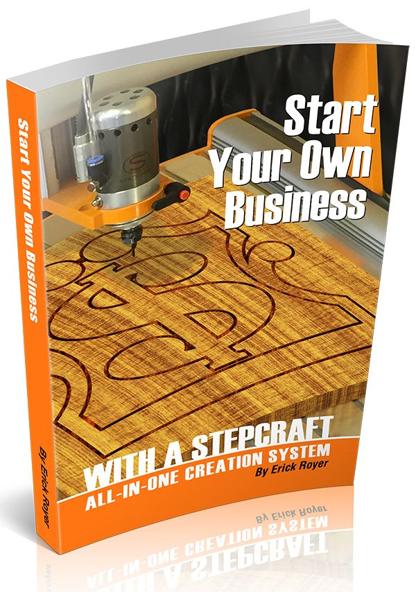 Get The Start Your Own Business With A Stepcraft All In One