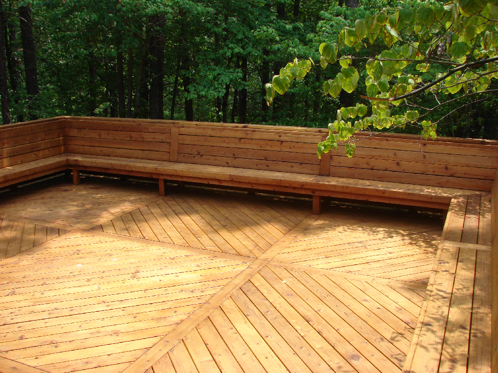 I Ve Always Wanted A Deck With Built In Seating Yard