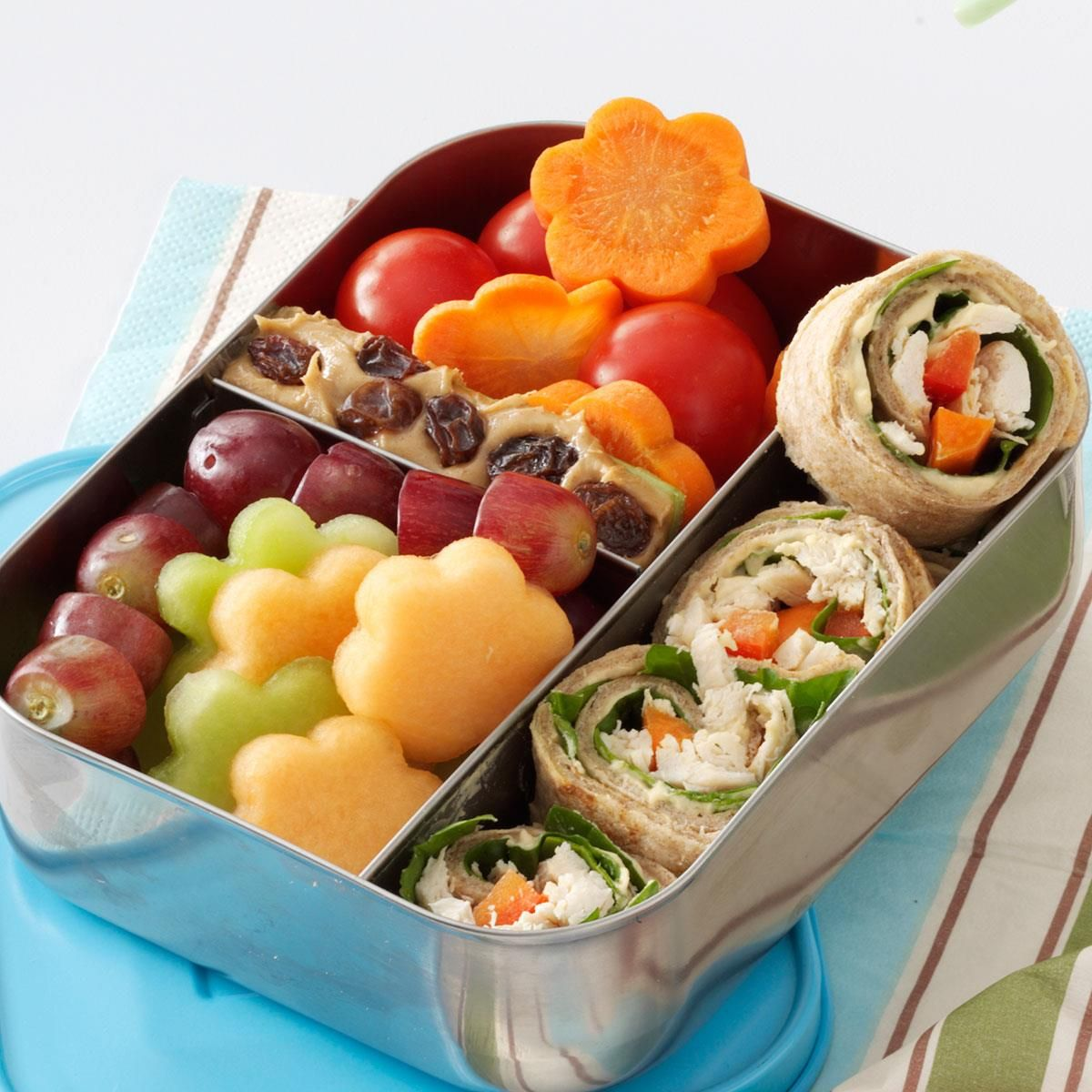 Lunch Box Chicken Wrap Recipe Lunch Box Test Kitchen And Lunches