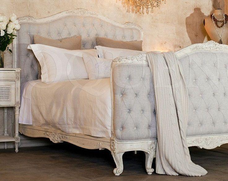 Cama vintage estilo luis xv vintage louis xv bed for Cama luis xv