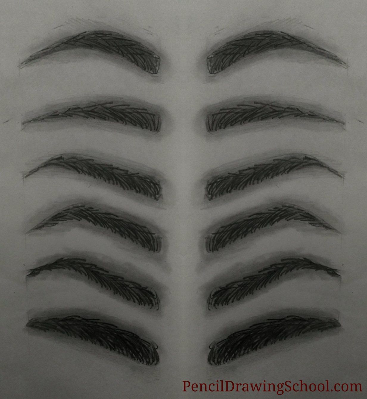 How to Draw an Eyebrow? The easy step by step guide in ...