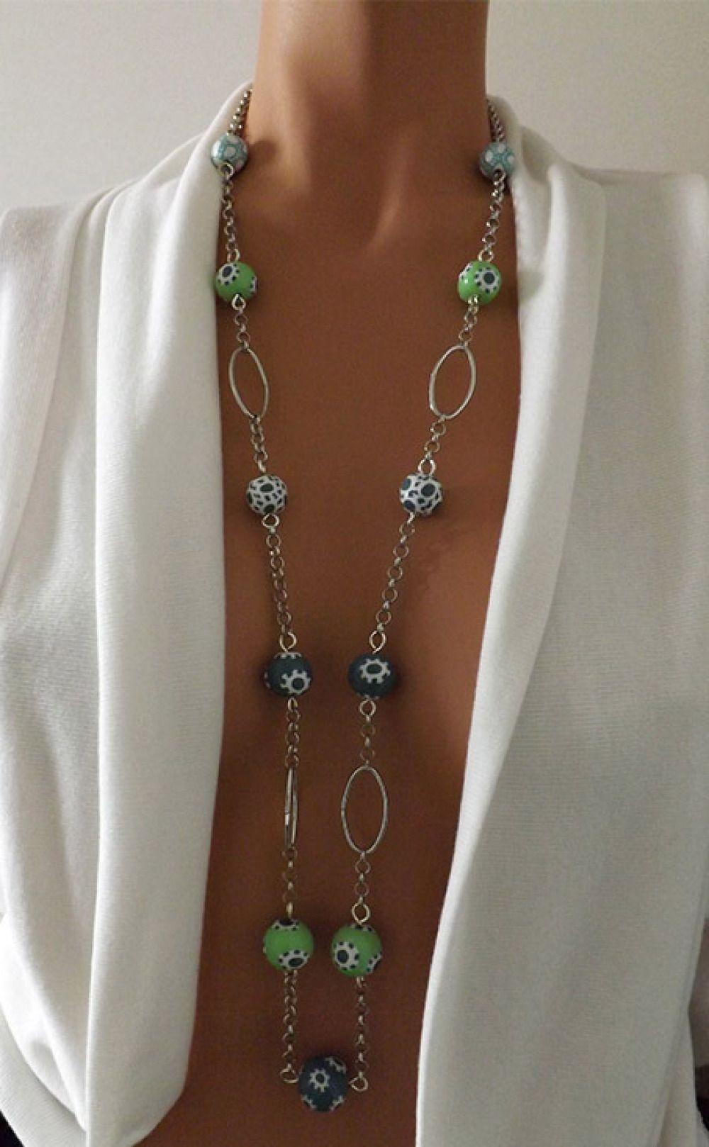 idee collier perle fantaisie
