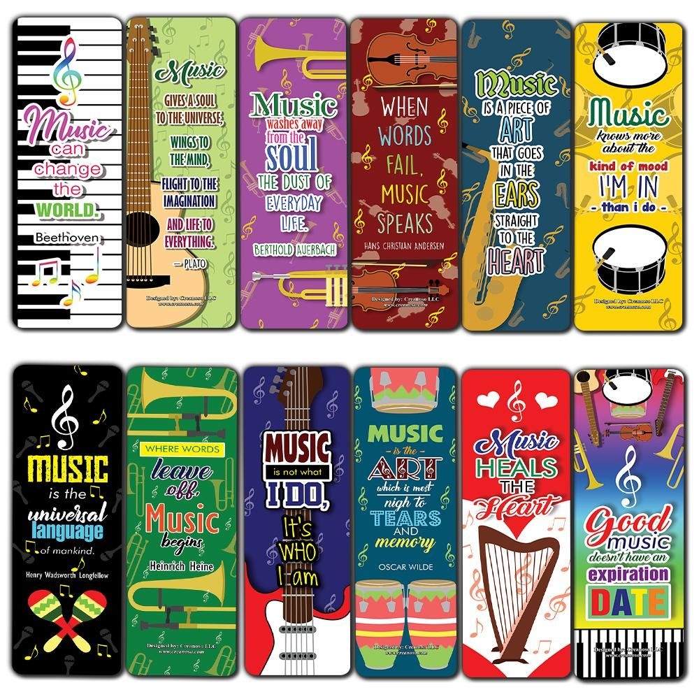 Creanoso Musical Quotes Bookmark A A A œ Cool Music Inspiring Inspirational Sayings For Musicians Good Music Inspirational Readings Musical Gift