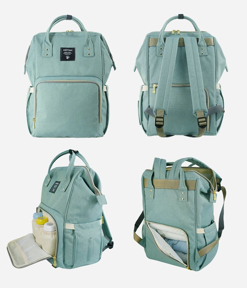 Bag Nappy Brand Large Baby Mummy Capacity Maternity Travel Backpack Sunveno Fash