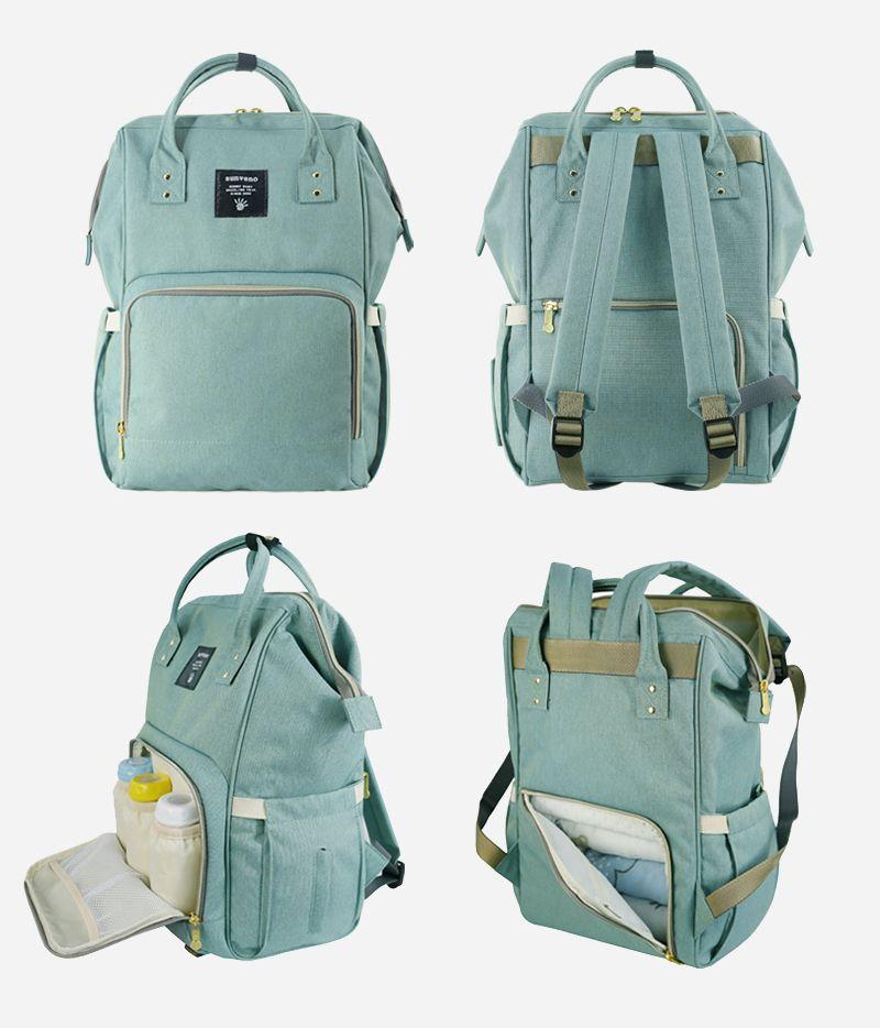 e7b9341dc4 Sunveno Fashion Maternity Mummy Nappy Bag Brand Large Capacity Baby Bag  Travel Backpack Desinger Nursing Diaper Bag Baby Care