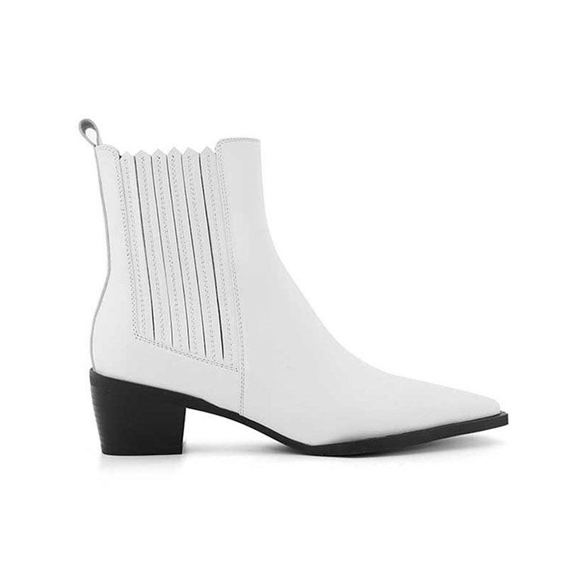 Kailr Block Heel Biker Ankle Western Cowboy Boots Boots Cowboy Boots