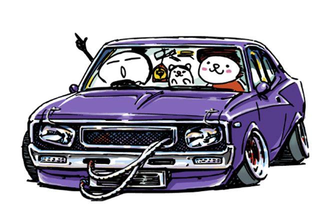 Ozizo Art Show かわいい車 車 イラスト 車の絵