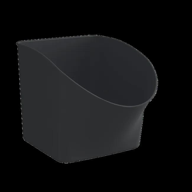 Bac De Rangement Incline Plastique Spaceo Kub Noir H 31 X L 43 5 X P 31 3 Cm Leroy Merlin En 2021 Bac De Rangement Rangement Sous Vide Rangement