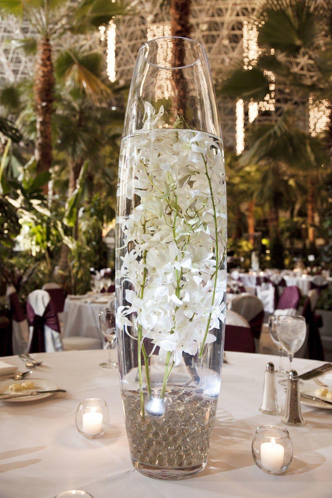 Flowerless Centerpieces Aberdeens Wedding Florist Created These
