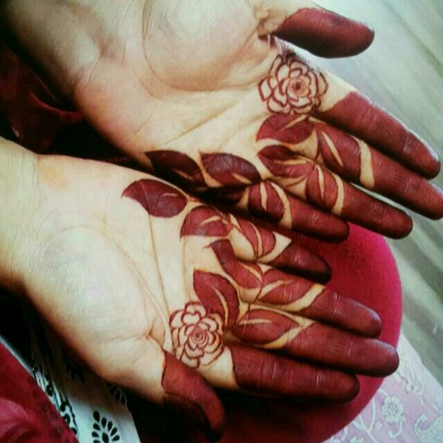 Flowers Arm Mehendi Mehndi Designs For Fingers Latest Finger Mehndi Designs Finger Mehndi Style