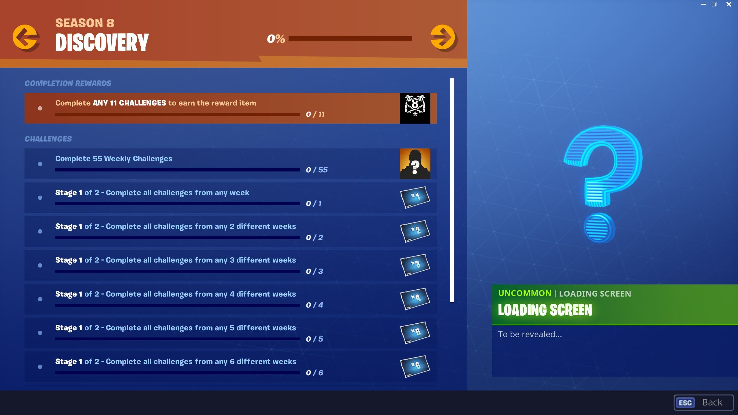 Fortnite Discovery Challenges are now live for Season 8 Battle Pass