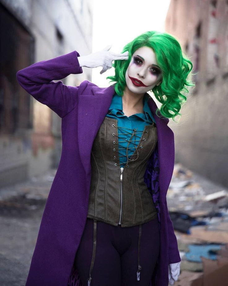 Hendoart In Her Gender Bending Joker Cosplay Rule63 Genderbendcosplay Of Thejoker Female Joker Cosplay Cosplay Woman Joker Costume