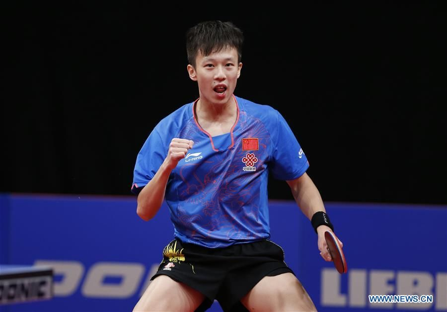 Fourth Top Ranking Player In Table Tennis Tabletennis Pingpong Table Tennis Player Best Ping Pong Table Ping Pong