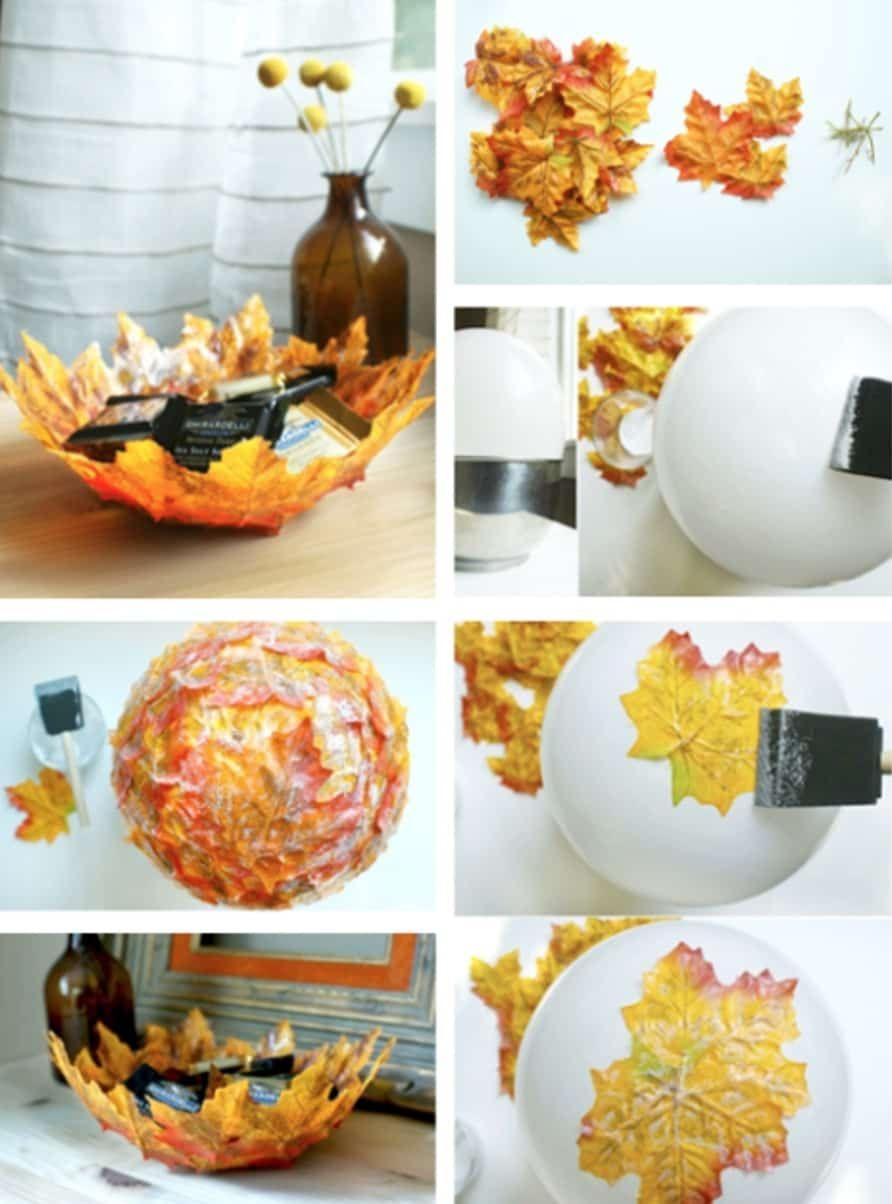 Pin By Linda Smith On Mesas Fall Crafts Diy Diy Fall Diy Bowl