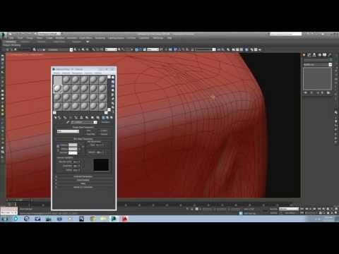 3ds Max Modeling Adding Wrinkles To High Poly 3d