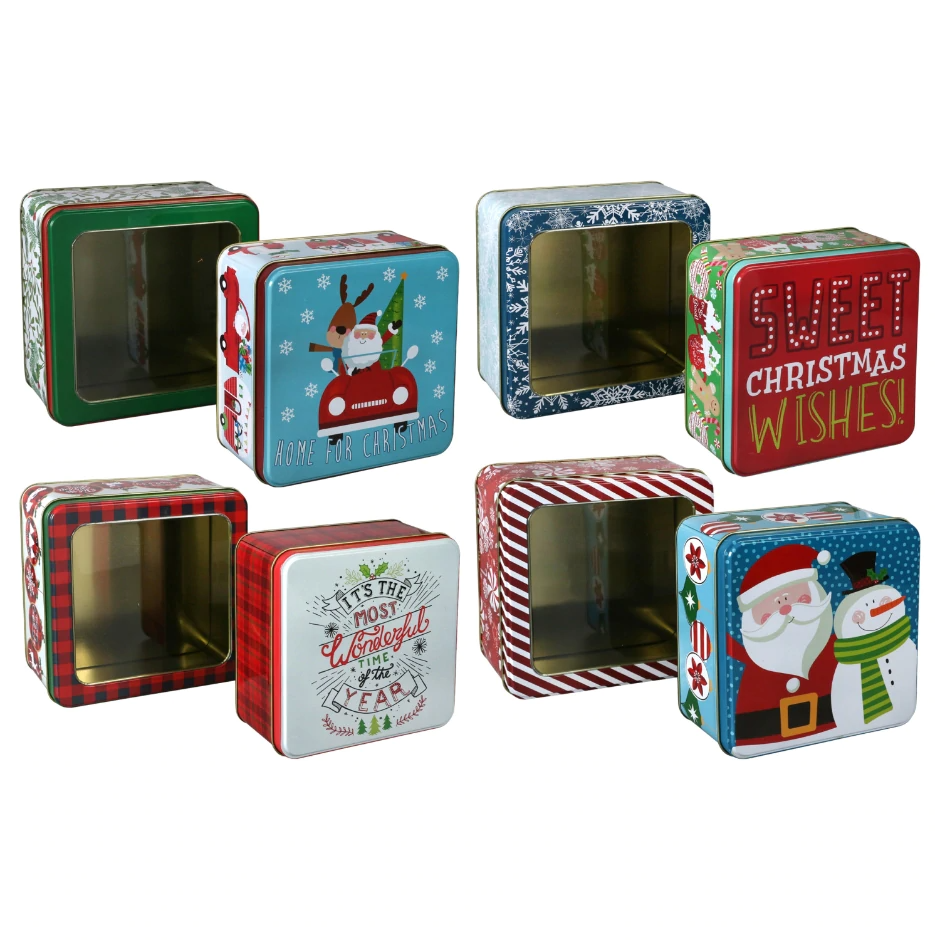 View Nesting Holiday Gift Boxes with