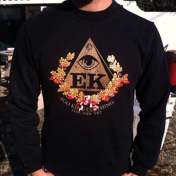 Ego King Clothing Veni Vidi Vici Sweater