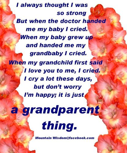 ....a grandparent thing.....