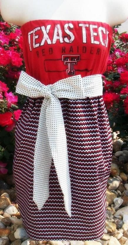 Texas Tech Red Raiders Game Day Dress 55 (With images