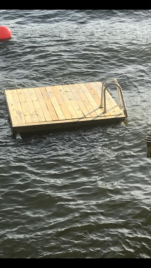 "Floating dock floats on 4"" PVC   DIY in 2019   Floating dock, Bath"