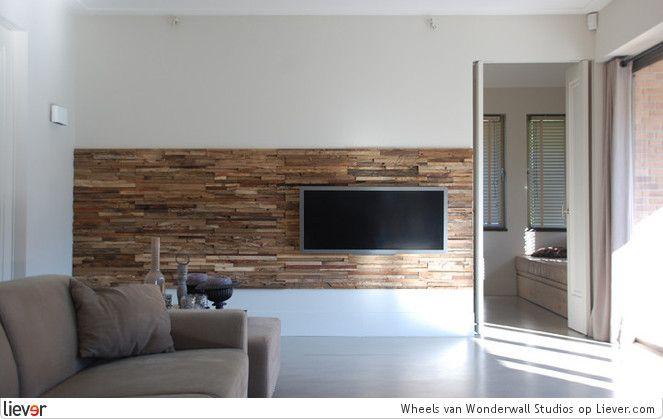 Wonderwallstudios televisie muur home tv wände