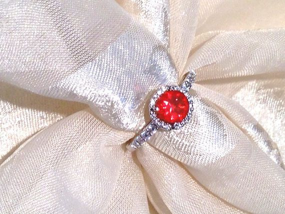 Fire #Opal #Ring or #EngagementRing #handmade #jewelry by NorthCoastCottage, $199.00