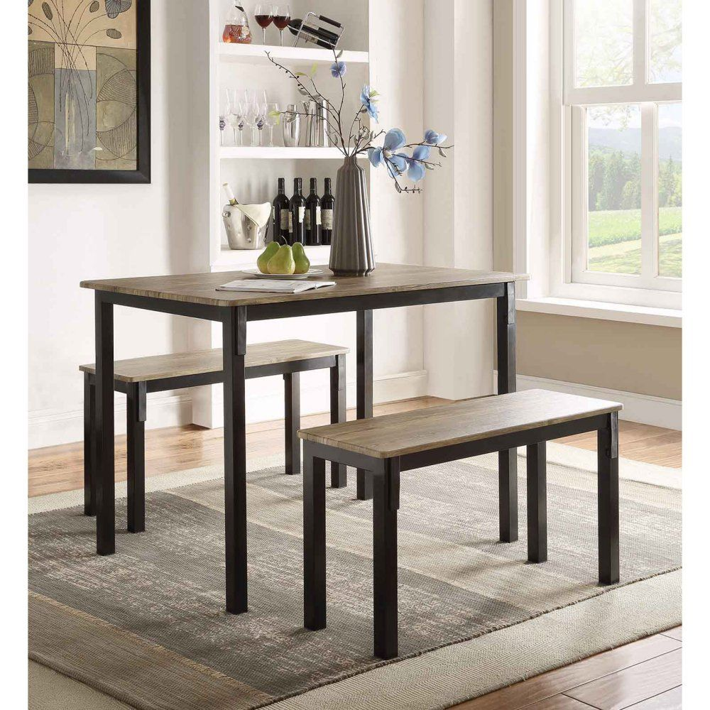 20 Small Dining Room Ideas On A Budget: 4D Concepts Boltzero 3 Piece Dining Table Set