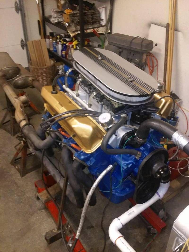 Ford big block FE Tri Power Motor - 1961 390 tri power | Old Rides 4