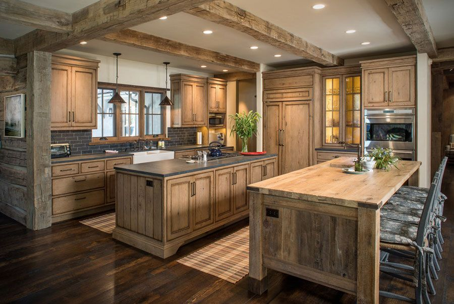51 Warm Wooden Kitchen Designs In Modern Classic Style Rustic