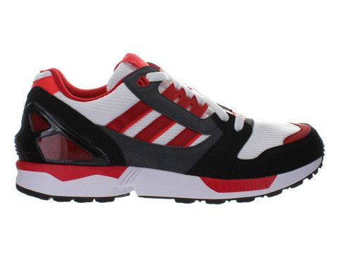 dca1aac7a Adidas ZX 8000 arriving with the white collegiate red and black colorway on  weekenddrop.com