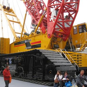 XCMG XGC88000 Crawler Crane (4,000 tonnes) - World Largest Crawler