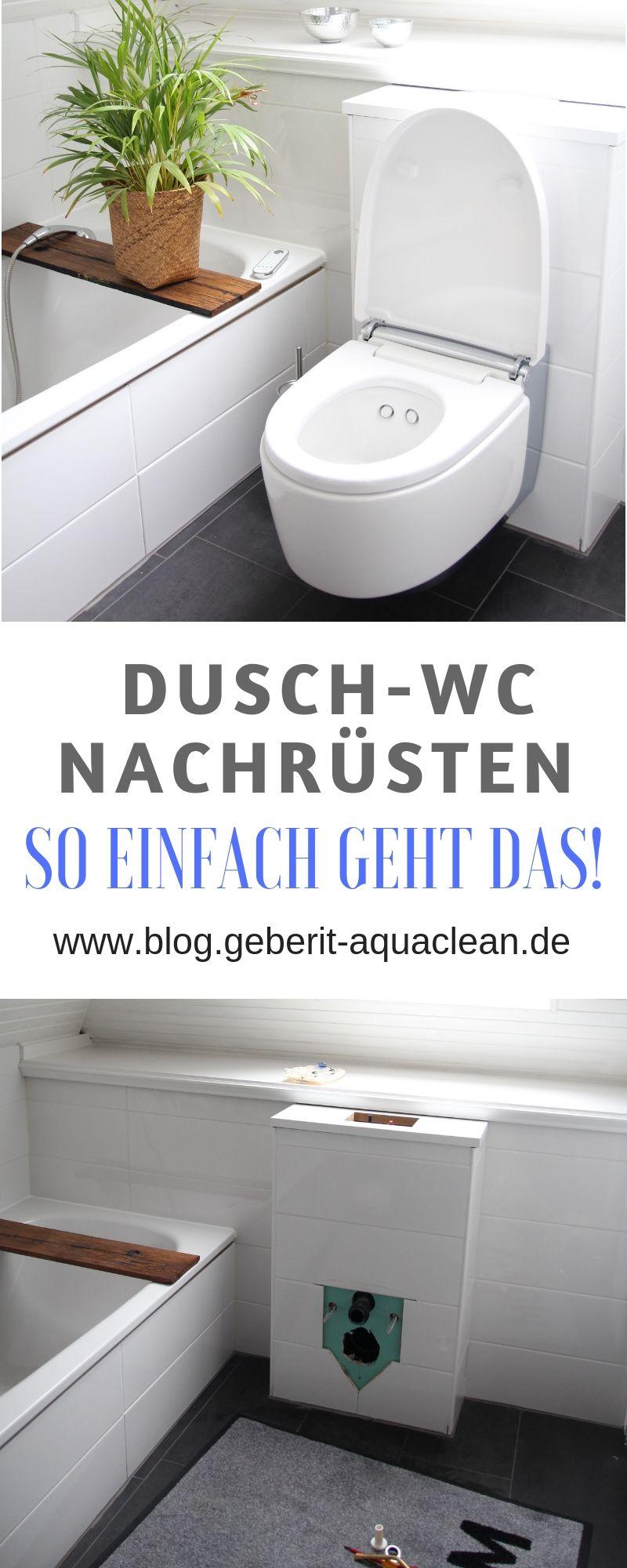 Dusch Wc Nachtraglich Einbauen Wc Mit Dusche Wc Renovieren Dusche