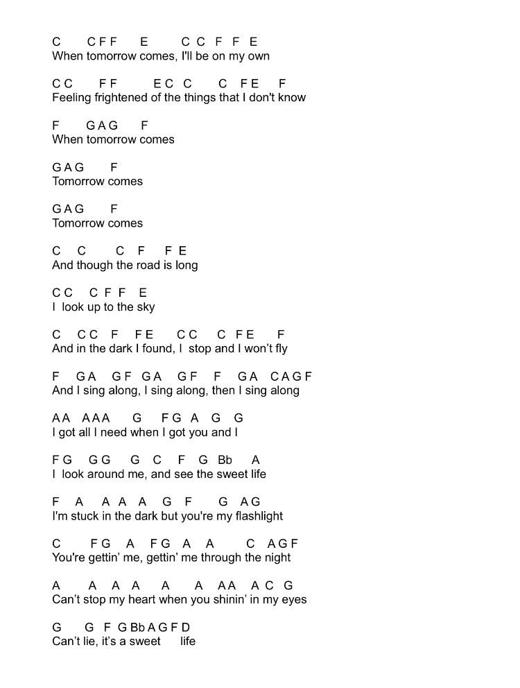 Piano piano sheet music with letters : Flashlight by Jessie J (from Pitch Perfect 2) Flute Sheet Music ...