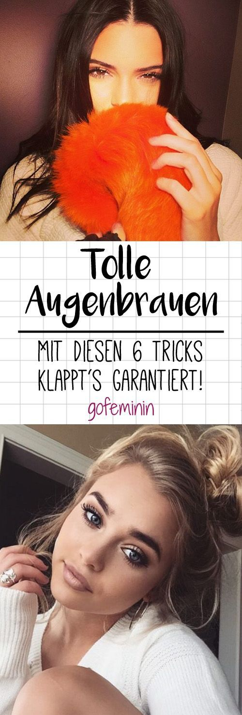 psst top secret auf diese 6 tricks schw ren frauen mit tollen augenbrauen make up. Black Bedroom Furniture Sets. Home Design Ideas