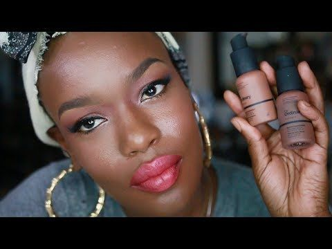 full face 1st impressions  dark skin makeup tutorial