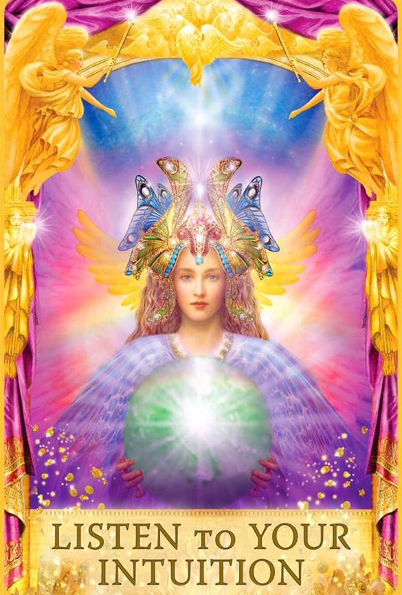 Angel Answers Oracle Cards Listen To Your Intuition Doreen Virtue Angel Answers Oracle Cards Angel Oracle Cards Angel Cards