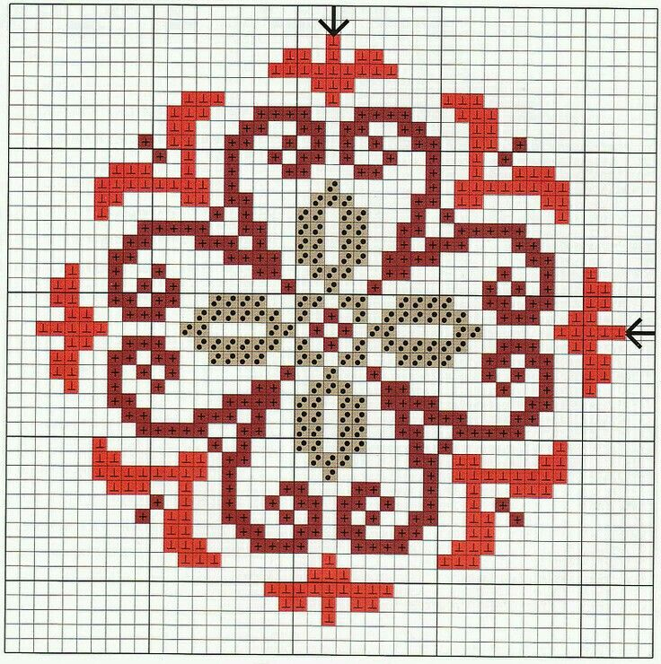 Pin By Sana Shaheen On نقلات تطريز Cross Stitch Designs Biscornu Cross Stitch Cross Stitch Flowers
