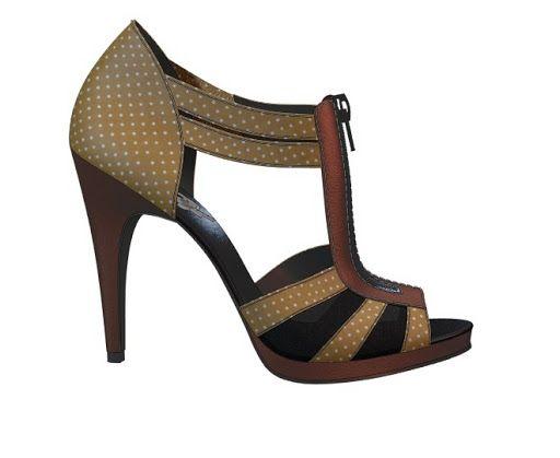 Me encanta este diseño personalizado de Shoes of Prey! Diseña tu par de zapatos perfecto ahora mismo en internet   shoesofprey.es