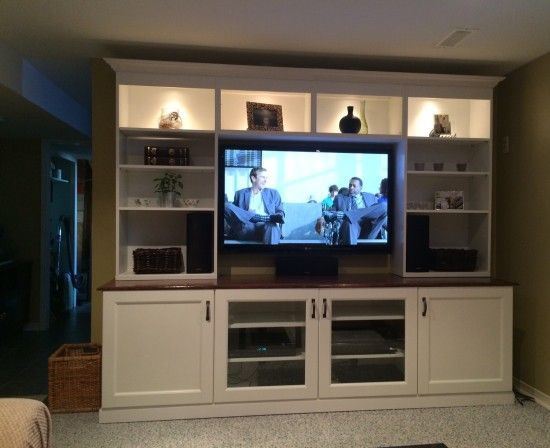 Looks Like A Lot Of Work But Amazing Result Much Er Too Ikea Tv Stand