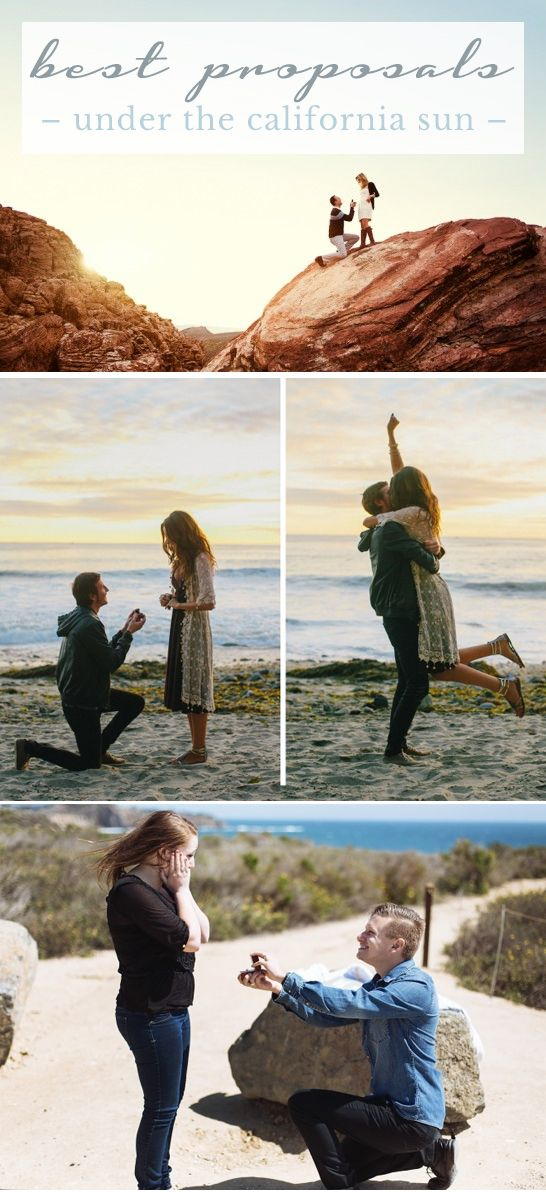 20 Awesome Marriage Proposal Ideas In California Proposals
