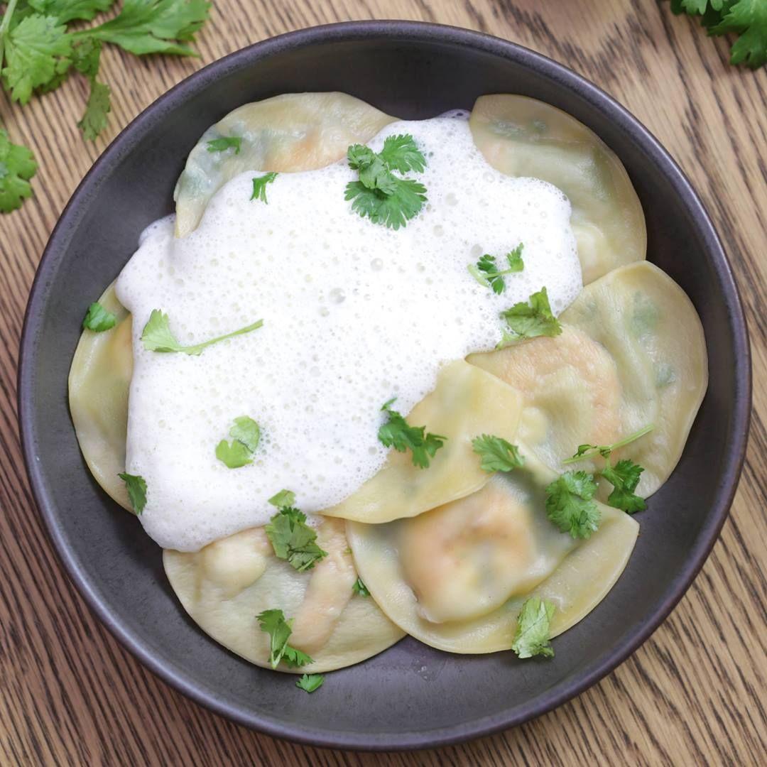 Réalisez de délicieuses raviolis fraîches aux crevettes avec le Cooking Chef Gourmet de Kenwood