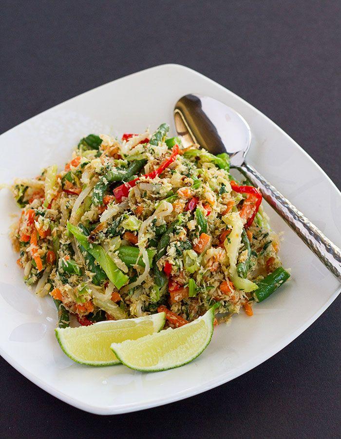 Balinese Mixed Vegetables Sayur Urab Balinese Recipe