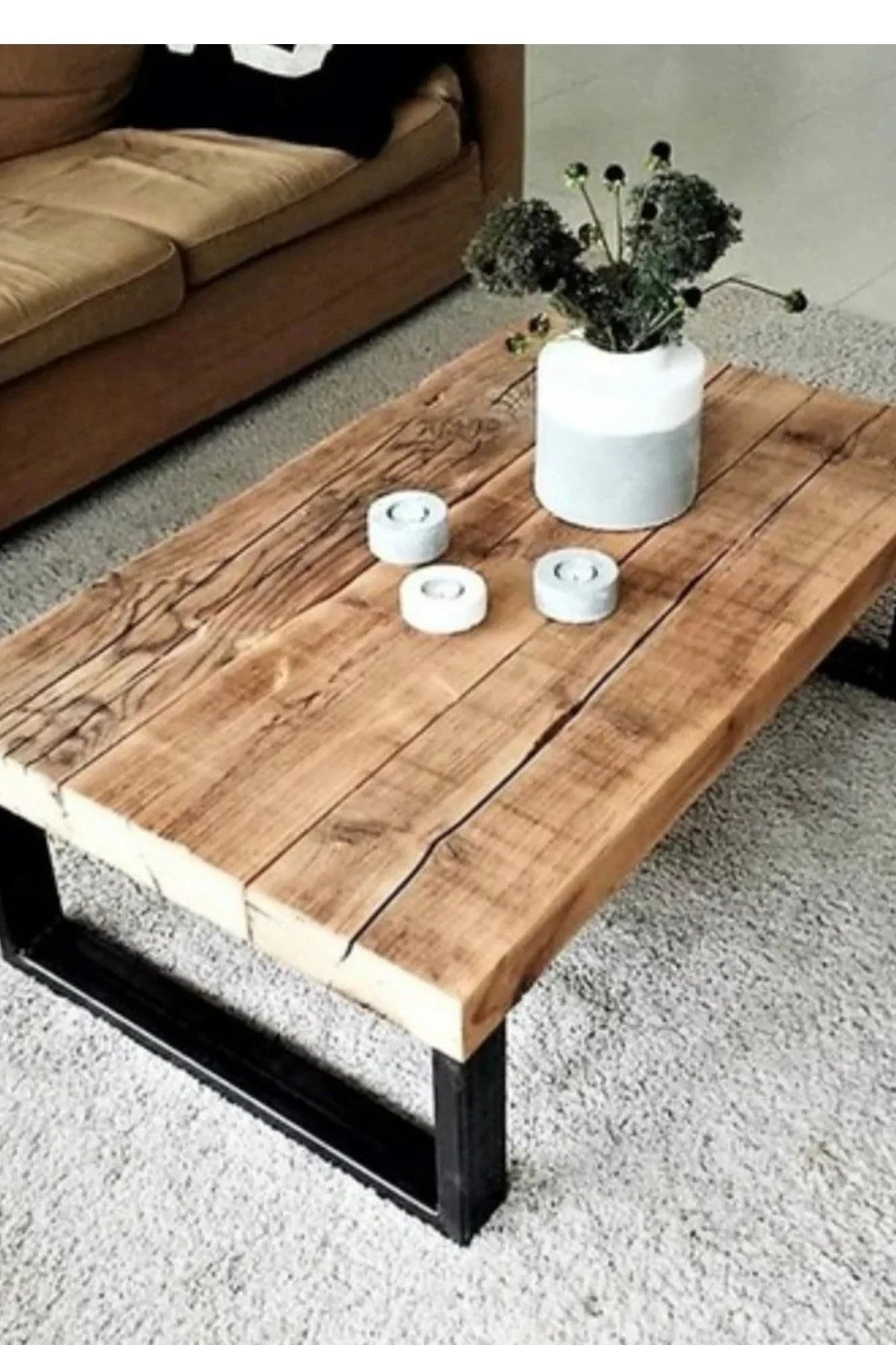 Wooden Coffee Table Coffee Table Middle Table Natural Wood Etsy In 2021 Diy Furniture Table Coffee Table Plans Coffee Table [ 1800 x 1200 Pixel ]